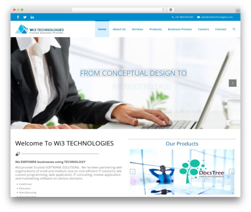 iMedica WP template - wi3technologies.com