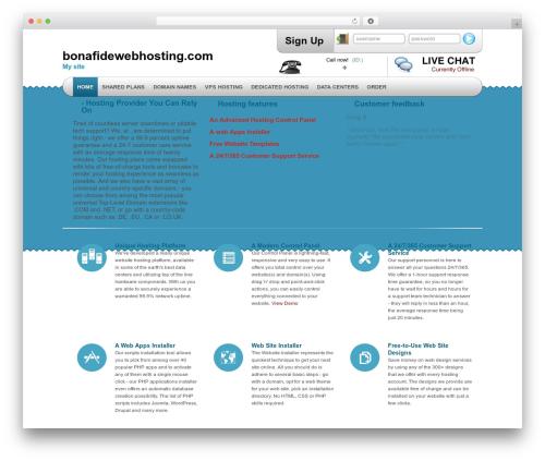 Theme WordPress Simply Elegant - bonafidewebhosting.com