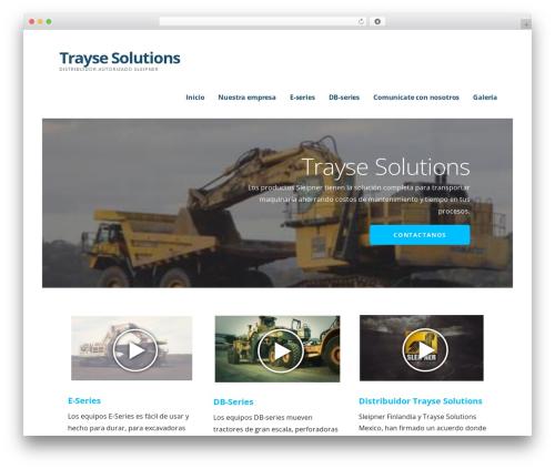 Best WordPress theme Ascension - traysesolutions.com