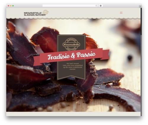 Betheme WordPress theme - nieuwoudtvilleslaghuis.com