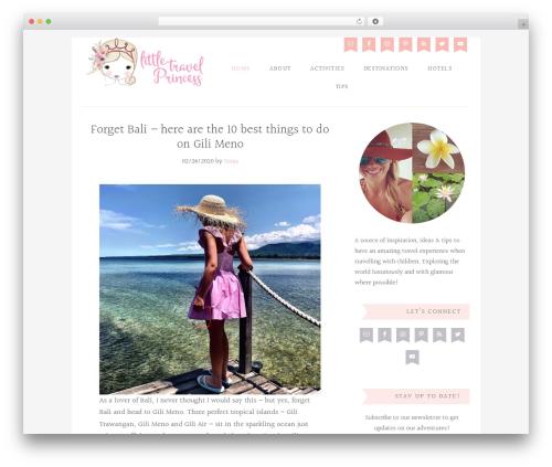 Blossom Theme WordPress theme - littletravelprincess.com