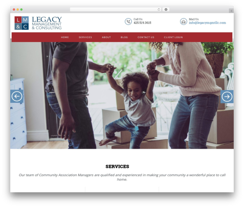Best WordPress template TK - legacymgmtllc.com