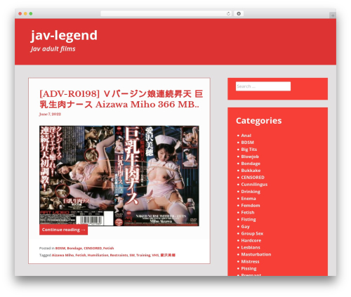 Heidi WordPress template free download - jav-legend.com