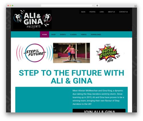 GeneratePress WordPress theme download - aliandginapresents.com