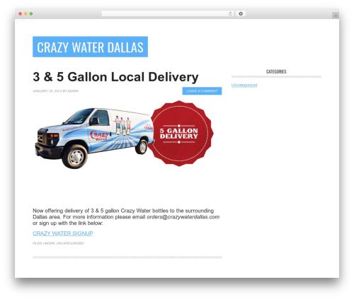 Metro Pro Theme theme WordPress - crazywaterdallas.com