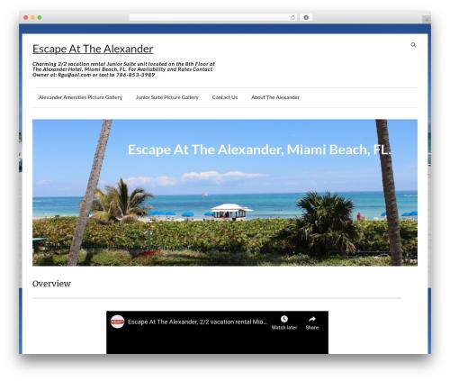 Speedy template WordPress free - escapeatthealexander.com