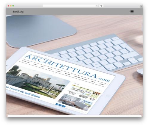 WP theme Mies - studioata.com