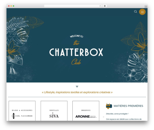 WordPress theme Movedo - thechatterboxclub.com