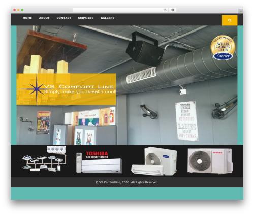 WordPress theme Urja Solar Energy - vscomfortline.com