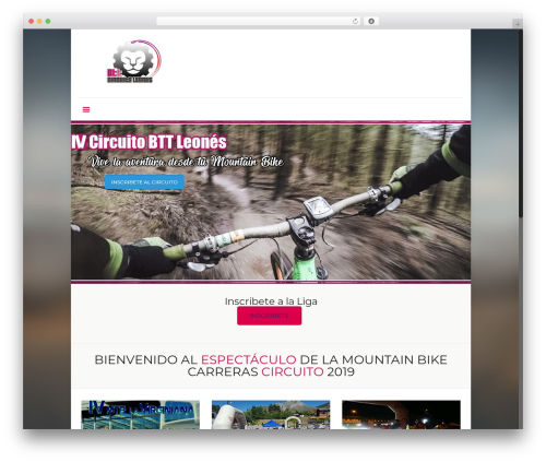 Betheme best WordPress theme - circuitobttleones.com