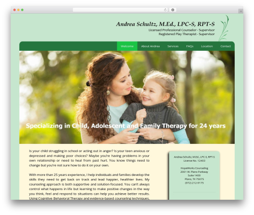 GeneratePress best free WordPress theme - andreaschultzcounseling.com