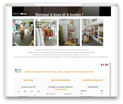 Theme WordPress Polar Lite - nousvousiles.com
