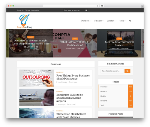 WP template Voice - exqconsulting.com
