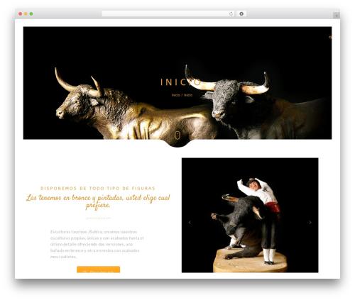 Narcos WordPress theme - esculturastaurinas.com