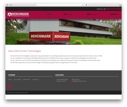Benchmark WP template - benchmark-usa.com
