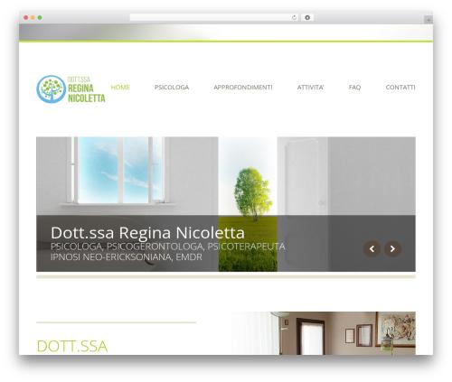 WordPress theme Klasik - reginanicoletta.com
