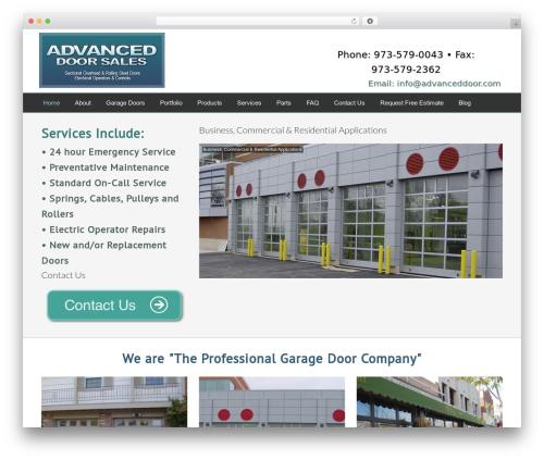 Best WordPress template Dynamik-Gen - advanceddoor.com