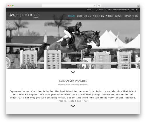 Theme WordPress HorseClub - esperanzaimports.com