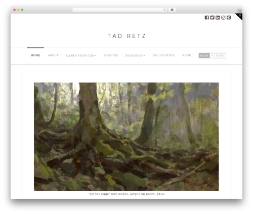 X WordPress template - tadretz.com