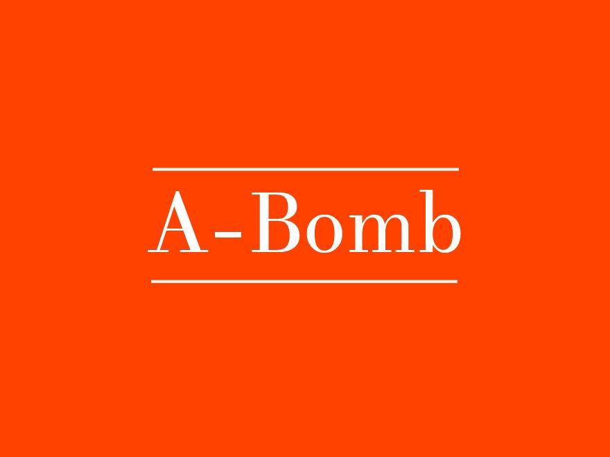 A-bomb WordPress magazine theme