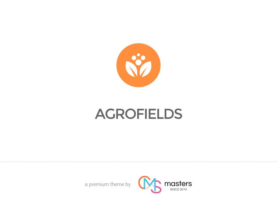 Agrofields WordPress blog template