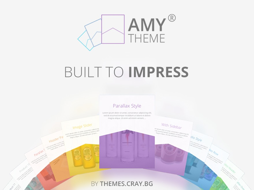 AMY Theme WP template