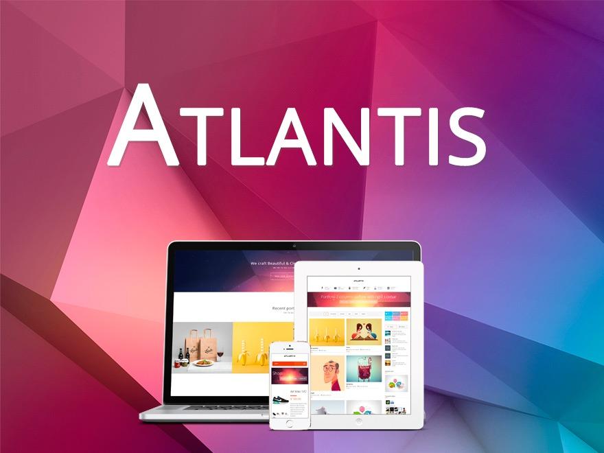 Atlantis Theme top WordPress theme