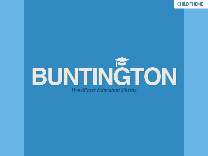 Best WordPress template Buntington Child
