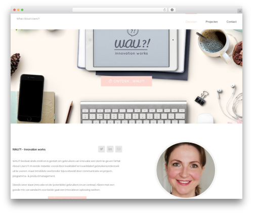 Best WordPress theme Avada - whataboutusers.com