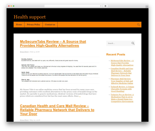 Best WordPress theme Halloween - whyisupporthillary.com
