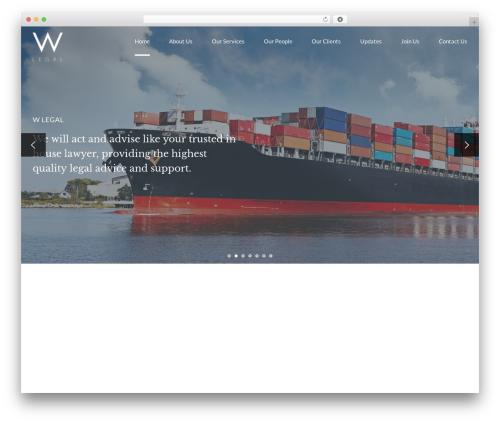 Free WordPress Bold Page Builder plugin - wlegal.co.uk