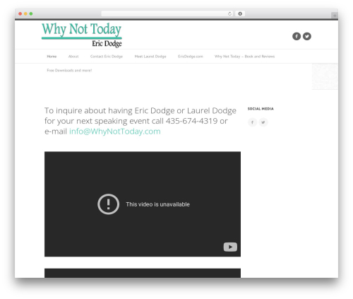 Best WordPress theme Outlet - whynottoday.com
