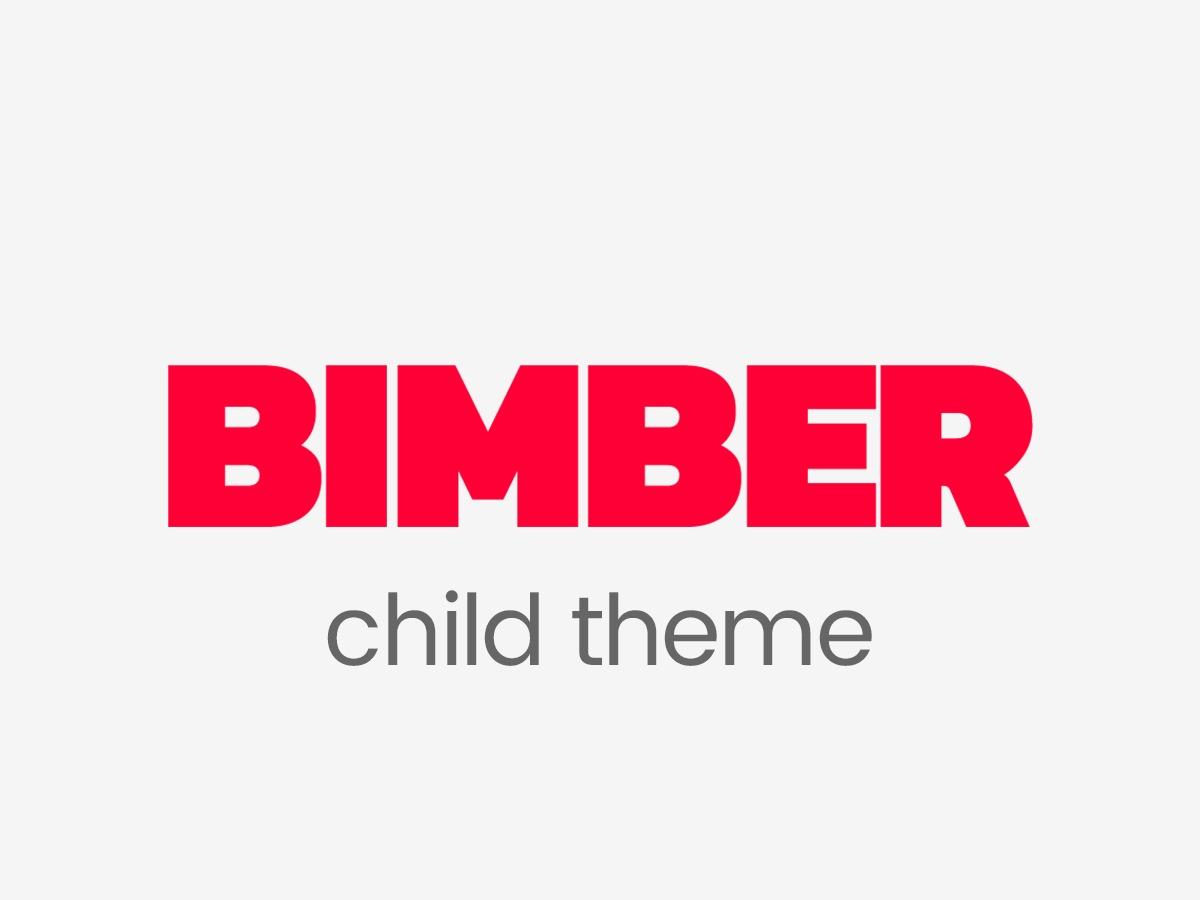 Bimber Child Theme top WordPress theme