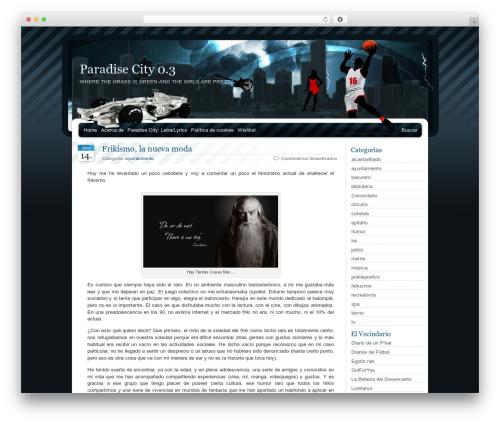 BlueMoD WordPress template - wp2.prdscity.net