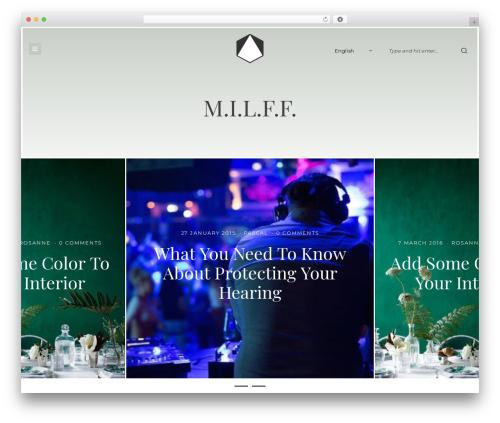 Brook theme WordPress - we-are-milff.com