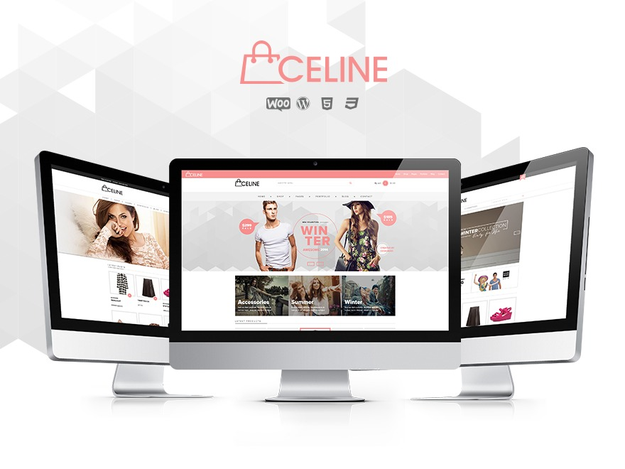 Celine - Responsive Shopping WordPress Theme best WooCommerce theme