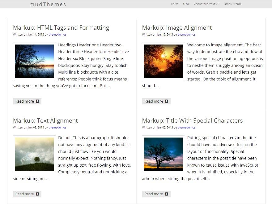 Cognize template WordPress free
