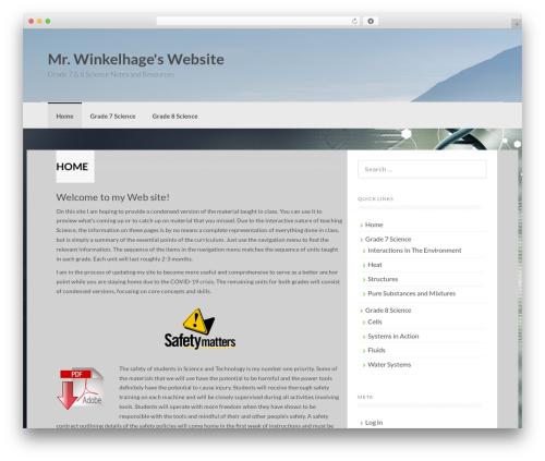 Coller theme WordPress free - winkelhage.com