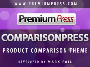 comparisonpress premium WordPress theme