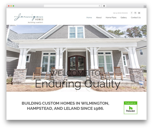 Construction WordPress template - wilmingtoncustomhome.com