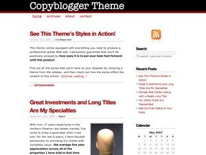 Copyblogger WordPress blog theme