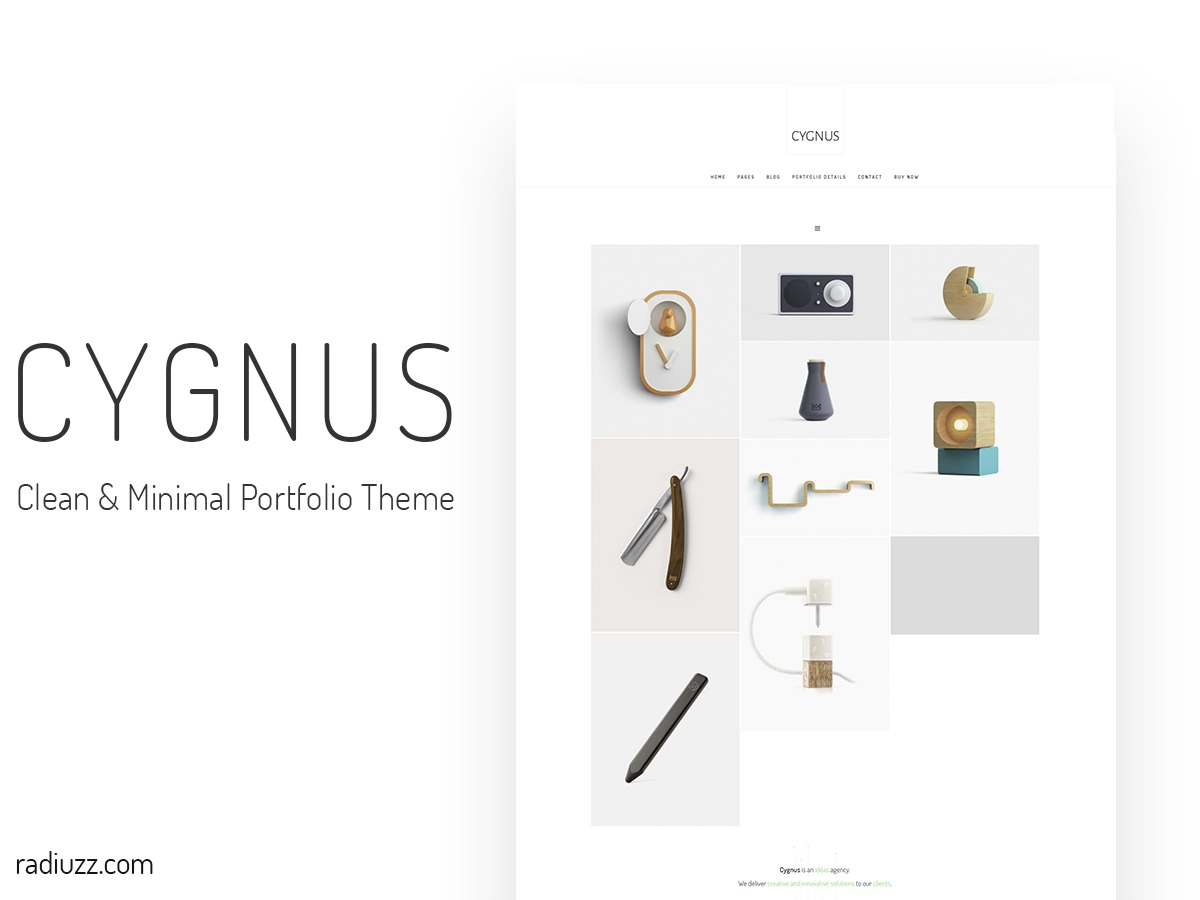 cygnus company WordPress theme