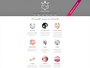 Dental theme WordPress portfolio
