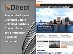 Direct business WordPress theme