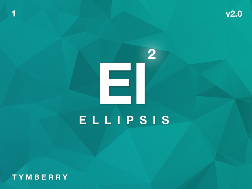 Ellipsis personal WordPress theme