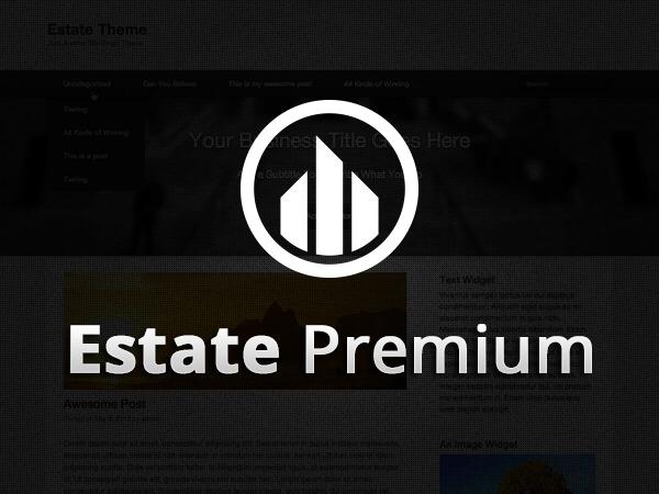 Estate Premium best portfolio WordPress theme