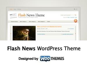 Flash News newspaper WordPress theme