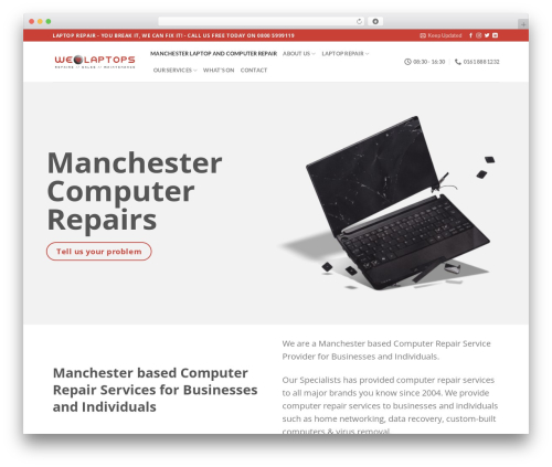 Flatsome theme WordPress - welovelaptops.net