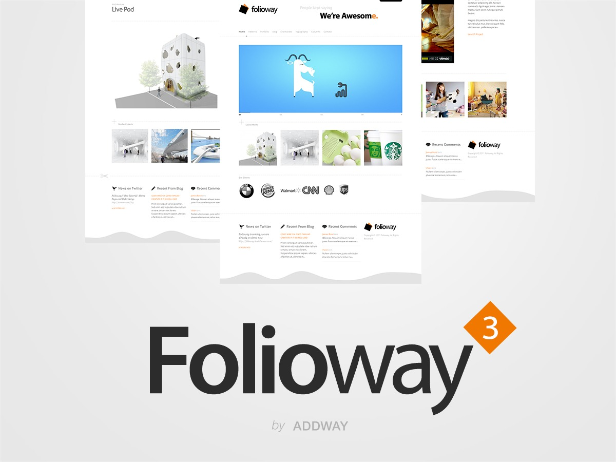 Folioway WordPress theme