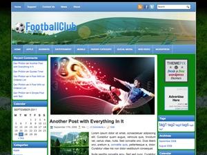 FootballClub WordPress gaming theme